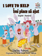 I Love to Help Îmi place să jut (Romanian Kids Book)