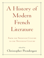 A History of Modern French Literature