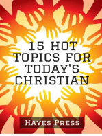 15 Hot Topics For Today's Christian