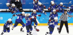 U.S. Women's Hockey Team Wins Gold, Beating Canada In Penalty-Shot Thriller