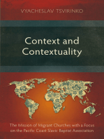 Context and Contextuality