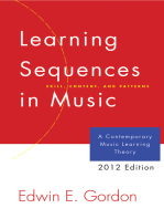 Learning Sequences in Music: A Contemporary Music Learning Theory (2012 Edition)