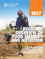 Africa Regional Overview of Food Security and Nutrition 2017. The Food Security and Nutrition–conflict Nexus: Building Resilience for Food Security, Nutrition and Peace