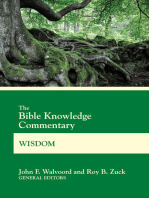 The Bible Knowledge Commentary Wisdom