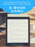 E-BOOK KAMU, Cara Mudah Membuat dan Menerbitkan EBook Sendiri