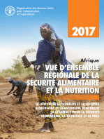 Afrique vue d'ensemble régionale de la sécurité alimentaire et la nutrition 2017. Le lien entre les conflits et la sécurité alimentaire et la nutrition