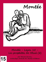 Montée - Leçon 15 - Les prophètes de l'Exil (2)
