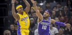 Lakers Survive Kings Scare Behind Caldwell-Pope's Big Game