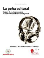 La Peña Cultural: modelo de radio ciudadana en Internet basado en investigación