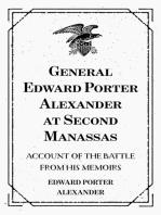 General Edward Porter Alexander at Second Manassas