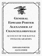 General Edward Porter Alexander at Chancellorsville