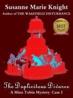 The Duplicitous Divorce (Minx Tobin Murder Mystery Series Book 3)