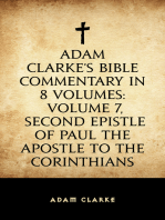 Adam Clarke's Bible Commentary in 8 Volumes