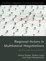 Regional Actors in Multilateral Negotiations