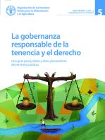 La gobernanza responsable de la tenencia y el derecho: Una guía para juristas y otros proveedores de servicios jurídicos