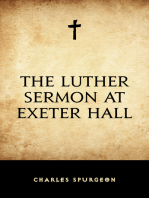 The Luther Sermon At Exeter Hall