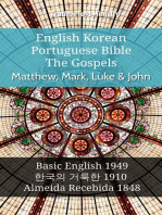 English Korean Portuguese Bible - The Gospels - Matthew, Mark, Luke & John