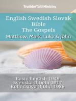English Swedish Slovak Bible - The Gospels - Matthew, Mark, Luke & John