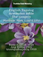 English Tagalog Armenian Bible - The Gospels - Matthew, Mark, Luke & John