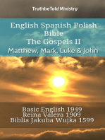 English Spanish Polish Bible - The Gospels II - Matthew, Mark, Luke & John