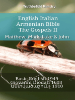 English Italian Armenian Bible - The Gospels II - Matthew, Mark, Luke & John