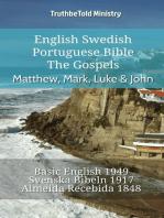 English Swedish Portuguese Bible - The Gospels - Matthew, Mark, Luke & John