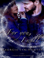 For You, I Will (Fallen Guardians 3,5 )