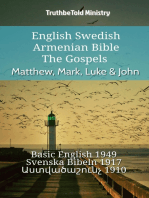 English Swedish Armenian Bible - The Gospels - Matthew, Mark, Luke & John