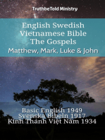 English Swedish Vietnamese Bible - The Gospels - Matthew, Mark, Luke & John