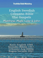 English Swedish Cebuano Bible - The Gospels - Matthew, Mark, Luke & John