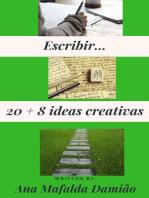Escribir... 20 + 8 ideas creativas