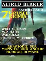 Sammelband 7 Grusel-Krimis