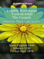 English Norwegian Turkish Bible - The Gospels - Matthew, Mark, Luke & John