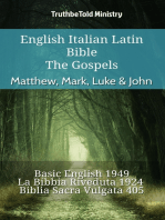English Italian Latin Bible - The Gospels - Matthew, Mark, Luke & John