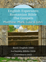 English Esperanto Romanian Bible - The Gospels - Matthew, Mark, Luke & John
