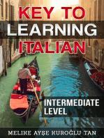Key To Learning Italian Intermediate Level