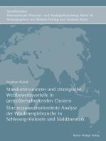 Standortressourcen und strategische Wettbewerbsvorteile in grenzüberschreitenden Clustern