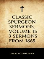 Classic Spurgeon Sermons, Volume 11