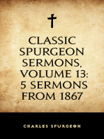Classic Spurgeon Sermons, Volume 13