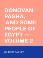 Donovan Pasha, and Some People of Egypt — Volume 2