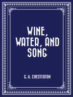 Wine, Water, and Song