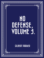 No Defense, Volume 3.