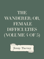The Wanderer; or, Female Difficulties (Volume 4 of 5)