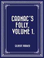 Carnac's Folly, Volume 1.