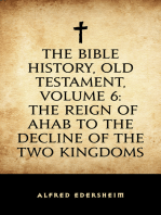 The Bible History, Old Testament, Volume 6