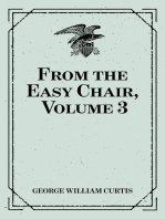 From the Easy Chair, Volume 3