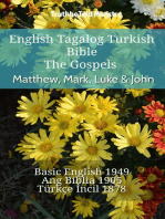English Tagalog Turkish Bible - The Gospels - Matthew, Mark, Luke & John