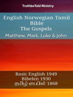 English Norwegian Tamil Bible - The Gospels - Matthew, Mark, Luke & John