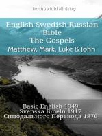English Swedish Russian Bible - The Gospels - Matthew, Mark, Luke & John