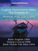 English Vietnamese Bible - The Gospels IV - Matthew, Mark, Luke & John